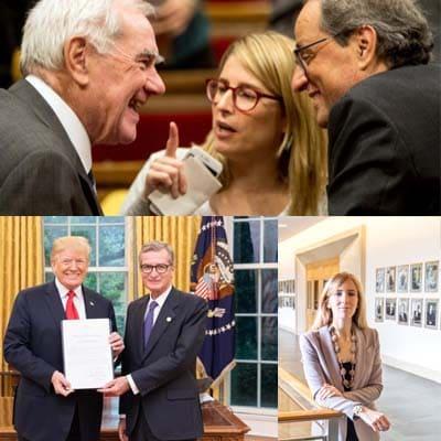 La «embajadora» de Torra en EE.UU. dice haber mantenido 13 citas con funcionarios