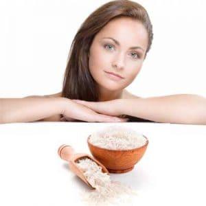 Mascarillas de harina de arroz