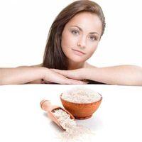 Mascarillas de harina de arroz para cara. Opiniones. Beneficios. Recetas de máscaras. Efectos.