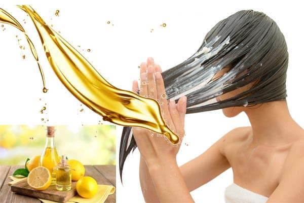 Mascarillas de limón para el cabello