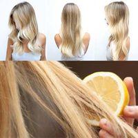Aclaración del cabello con limón. Opiniones. Beneficios. Recetas de máscaras. Efectos.