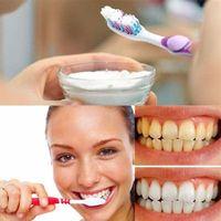Blanqueamiento de dientes con bicarbonato de sodio. Opiniones. Beneficios. Resultados.
