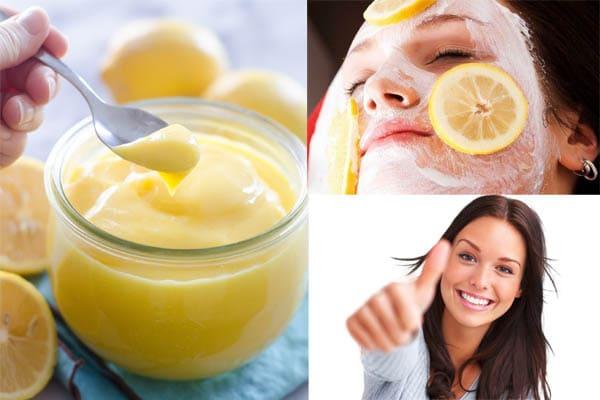 Mascarillas de limón para la cara