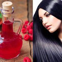 Mascarillas de vinagre de frambuesa para el cabello. Opiniones. Beneficios. Recetas de máscaras. Efectos.
