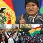 Evo Morales renuncia en medio de acusaciones de fraude electoral y crisis política en Bolivia