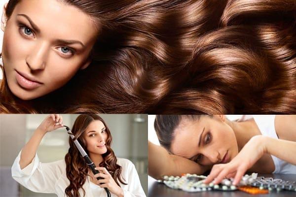 Recetas caseras para un cabello hermoso.