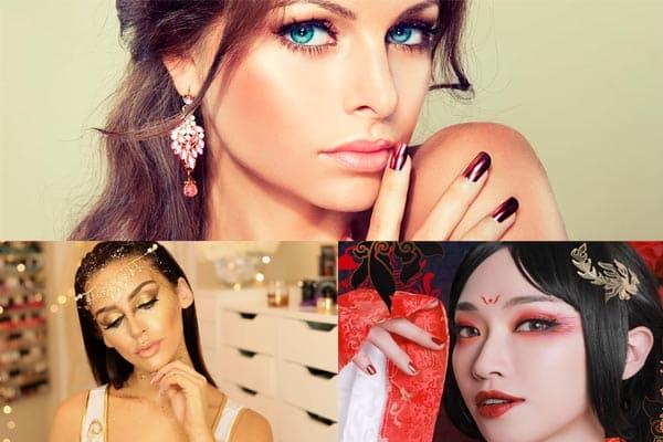 maquillaje moderno