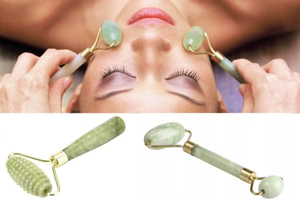 Masaje con un rodillo de jade: