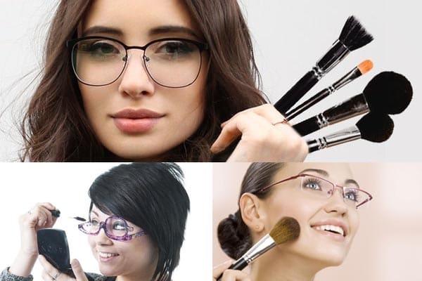 Cuatro ojos: caracteristicas del maquillaje con mala vista