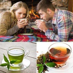 La diferencia entre el te negro y el te verde