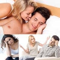 Razones de la falta de voluntad masculina para tener relaciones sexuales.